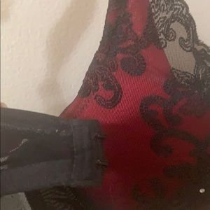 Frederick's of Hollywood Other - Fredricks Hollywood Black and red lace bra